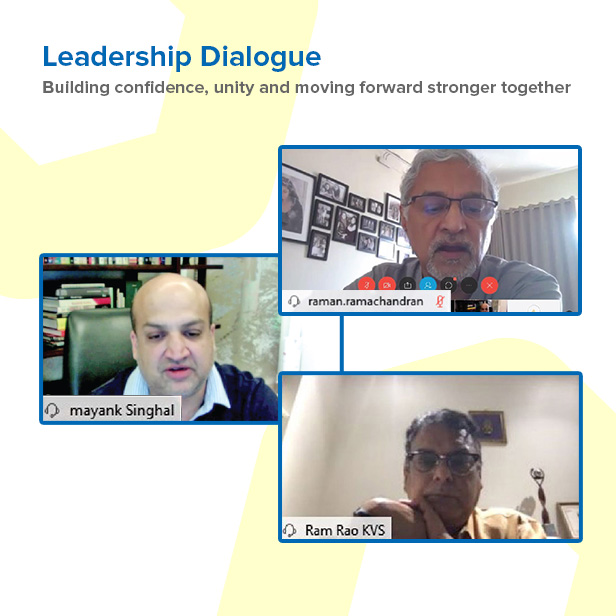 Interactive Leadership dialogues to actively connect with the employees